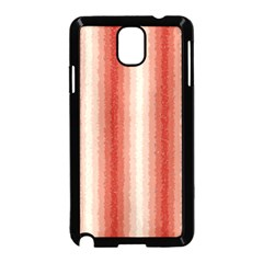Red Curly Stripes Samsung Galaxy Note 3 Neo Hardshell Case (black)