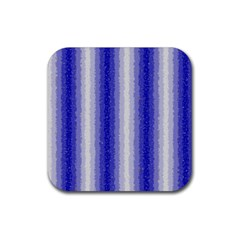 Dark Blue Curly Stripes Drink Coasters 4 Pack (square)