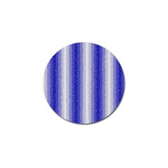 Dark Blue Curly Stripes Golf Ball Marker 4 Pack