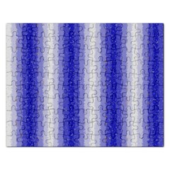 Dark Blue Curly Stripes Jigsaw Puzzle (rectangle)