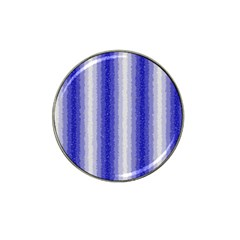 Dark Blue Curly Stripes Golf Ball Marker 10 Pack (for Hat Clip)