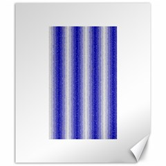Dark Blue Curly Stripes Canvas 20  x 24  (Unframed)