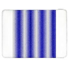 Dark Blue Curly Stripes Samsung Galaxy Tab 7  P1000 Flip Case
