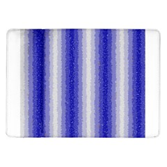 Dark Blue Curly Stripes Samsung Galaxy Tab 10 1  P7500 Flip Case