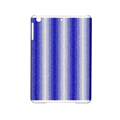 Dark Blue Curly Stripes Apple iPad Mini 2 Hardshell Case