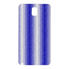 Dark Blue Curly Stripes Samsung Galaxy Note 3 N9005 Hardshell Back Case