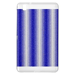 Dark Blue Curly Stripes Samsung Galaxy Tab Pro 8.4 Hardshell Case