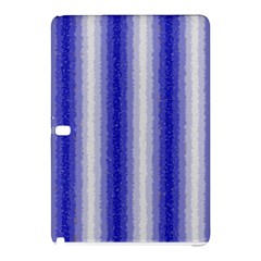 Dark Blue Curly Stripes Samsung Galaxy Tab Pro 12.2 Hardshell Case