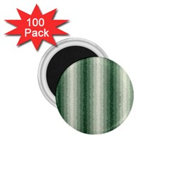 Dark Green Curly Stripes 1 75  Button Magnet (100 Pack)