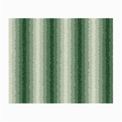 Dark Green Curly Stripes Glasses Cloth (Small, Two Sided)