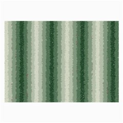 Dark Green Curly Stripes Glasses Cloth (large)