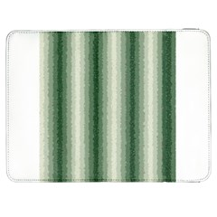Dark Green Curly Stripes Samsung Galaxy Tab 7  P1000 Flip Case
