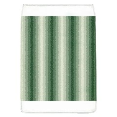 Dark Green Curly Stripes Removable Flap Cover (large)