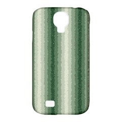 Dark Green Curly Stripes Samsung Galaxy S4 Classic Hardshell Case (pc+silicone)