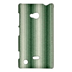 Dark Green Curly Stripes Nokia Lumia 720 Hardshell Case