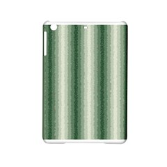 Dark Green Curly Stripes Apple iPad Mini 2 Hardshell Case