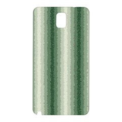 Dark Green Curly Stripes Samsung Galaxy Note 3 N9005 Hardshell Back Case