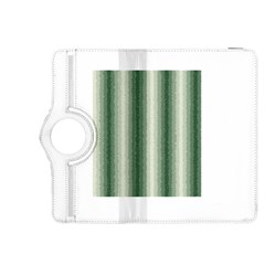 Dark Green Curly Stripes Kindle Fire HDX 8.9  Flip 360 Case