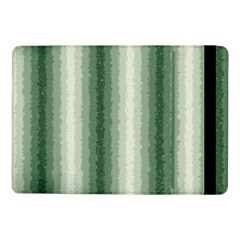 Dark Green Curly Stripes Samsung Galaxy Tab Pro 10 1  Flip Case