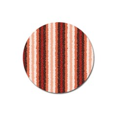 Native American Curly Stripes - 1 Magnet 3  (Round)