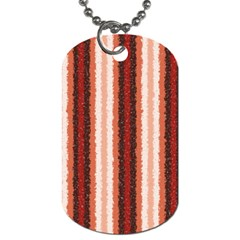 Native American Curly Stripes   1 Dog Tag (two Sided)