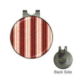 Native American Curly Stripes - 1 Hat Clip with Golf Ball Marker