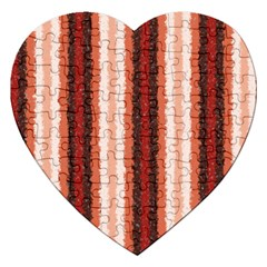 Native American Curly Stripes   1 Jigsaw Puzzle (heart)
