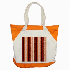 Native American Curly Stripes - 1 Accent Tote Bag