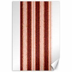Native American Curly Stripes - 1 Canvas 12  x 18  (Unframed)