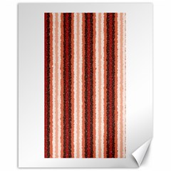 Native American Curly Stripes - 1 Canvas 16  x 20  (Unframed)