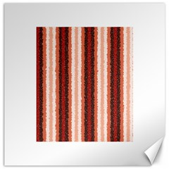 Native American Curly Stripes   1 Canvas 20  X 20  (unframed)