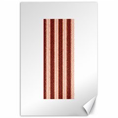 Native American Curly Stripes - 1 Canvas 20  x 30  (Unframed)