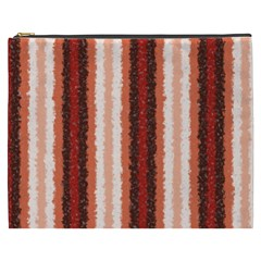 Native American Curly Stripes   1 Cosmetic Bag (xxxl)