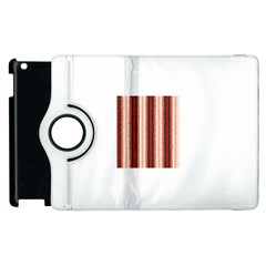Native American Curly Stripes - 1 Apple iPad 2 Flip 360 Case