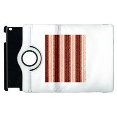 Native American Curly Stripes - 1 Apple iPad 3/4 Flip 360 Case