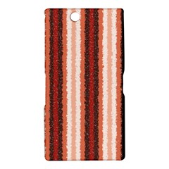 Native American Curly Stripes - 1 Sony Xperia Z Ultra (XL39H) Hardshell Case