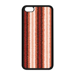 Native American Curly Stripes - 1 Apple iPhone 5C Seamless Case (Black)