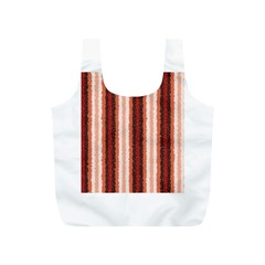 Native American Curly Stripes - 1 Reusable Bag (S)