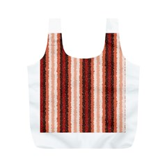 Native American Curly Stripes - 1 Reusable Bag (M)