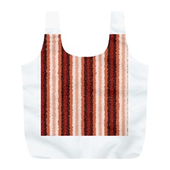 Native American Curly Stripes   1 Reusable Bag (l)