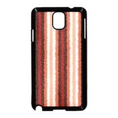 Native American Curly Stripes - 1 Samsung Galaxy Note 3 Neo Hardshell Case (Black)
