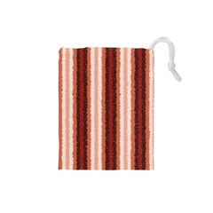 Native American Curly Stripes - 1 Drawstring Pouch (Small)
