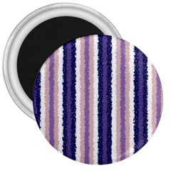 Native American Curly Stripes   2 3  Button Magnet