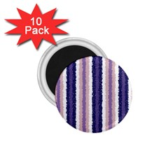 Native American Curly Stripes   2 1 75  Button Magnet (10 Pack)