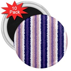 Native American Curly Stripes - 2 3  Button Magnet (10 pack)