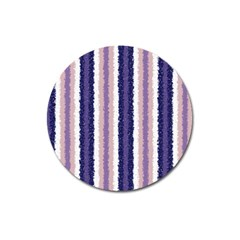 Native American Curly Stripes   2 Magnet 3  (round)