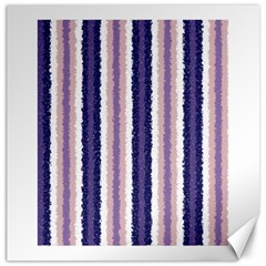 Native American Curly Stripes   2 Canvas 16  X 16  (unframed)