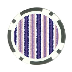 Native American Curly Stripes   2 Poker Chip