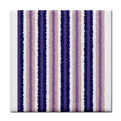 Native American Curly Stripes   2 Face Towel