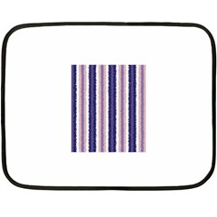 Native American Curly Stripes - 2 Mini Fleece Blanket (Two Sided)